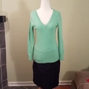 Old Navy Knit Sweater in Green Goddess Size Small